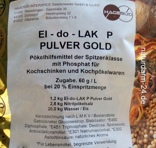 El-do-lak P Pulver Gold, 1,2kg